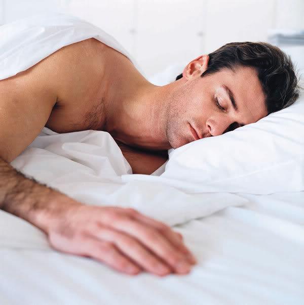 gay asleep