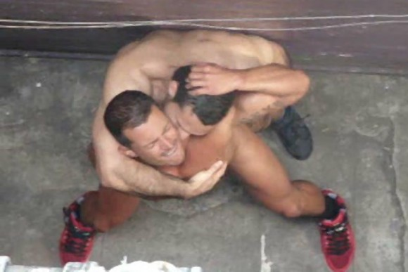 gays caught fucking