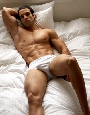 sexy gay man